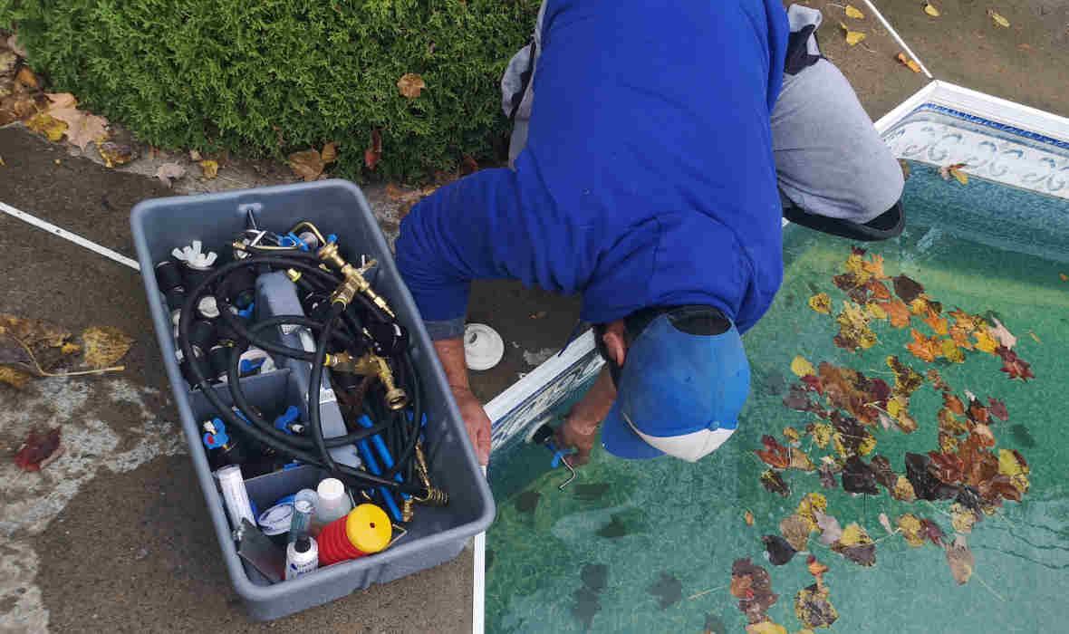 Detection et Réparation Fuite Piscine Creusee