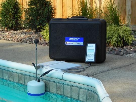 Détection fuite piscine
