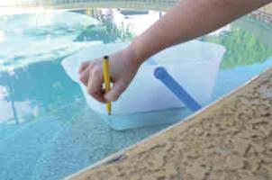 Trouver une fuite dans une piscine